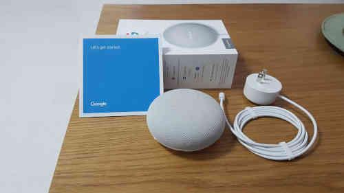 Google home mini open box
