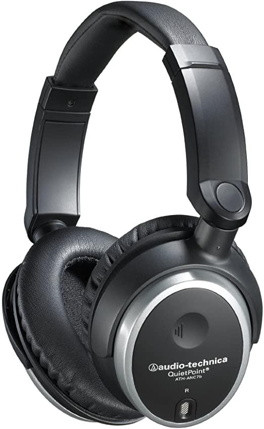 Audio Technica ATH ANC7B QuietPoint Active Noise Cancelling