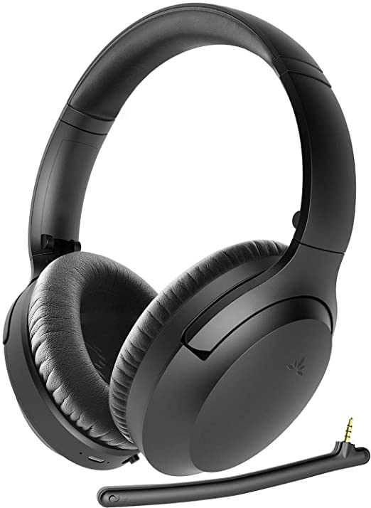 Avantree Aria Bluetooth 5.0 Active Noise Cancelling Headphones