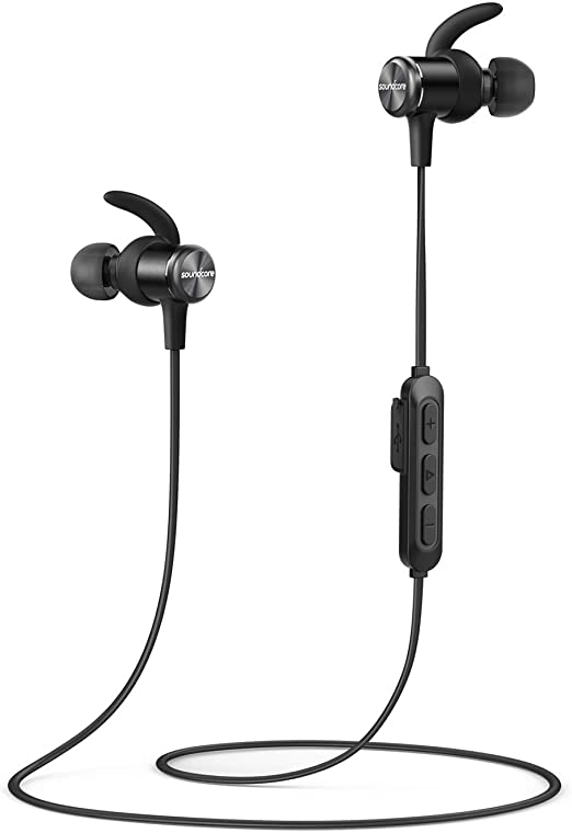 Bluetooth Headphones, Soundcore Spirit Sports Earbuds by Anker, Bluetooth 5.0