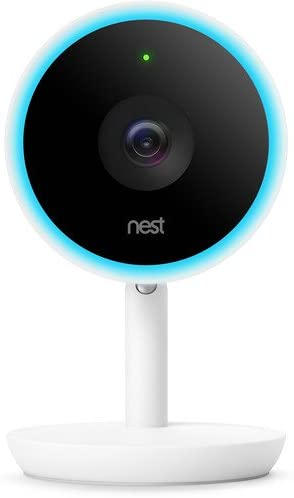 Nest Labs Wifi-enabled Indoor Camera in White