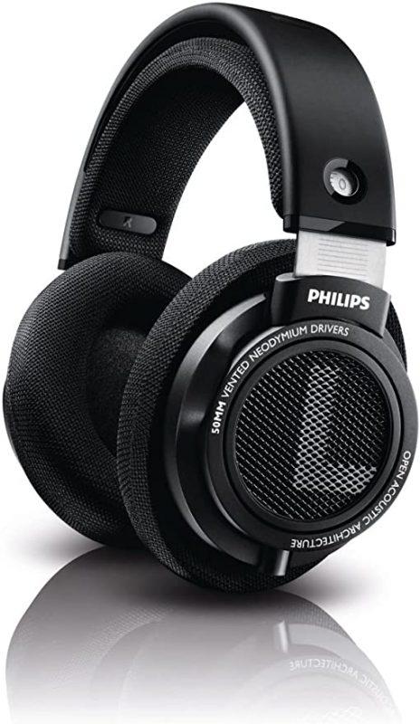 Philips Audio Philips SHP9500 HiFi Precision Stereo Over-Ear Headphones