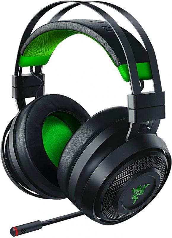 Razer Nari Ultimate for Xbox One Wireless 7.1 Surround Sound Gaming Headset