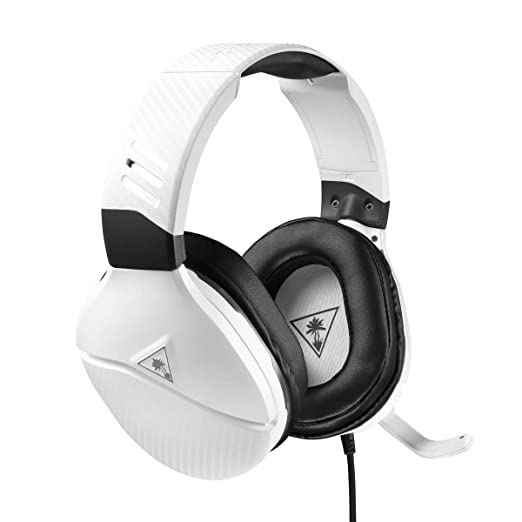 Turtle Beach Recon 200 White Amplified Gaming Headset for Xbox and PlayStation