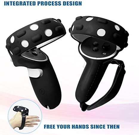 Touch Controller Grip Cover, VR Silicone Face Mask
